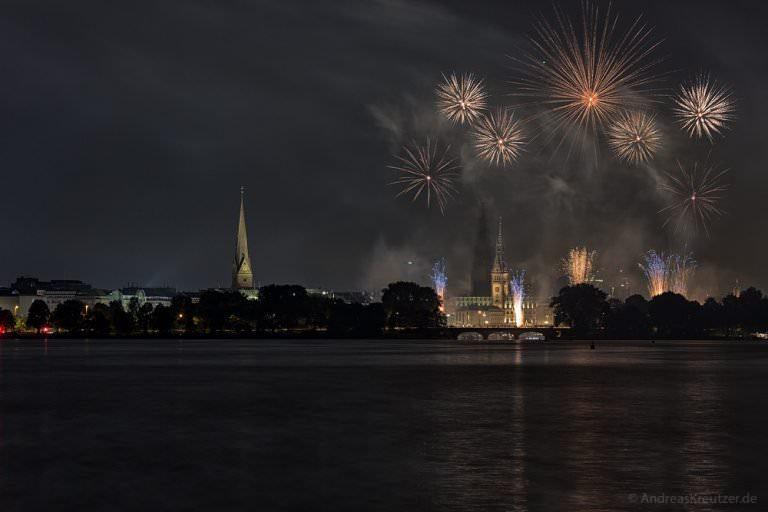 Feuerwerk beim Alstervergnügen 2015
