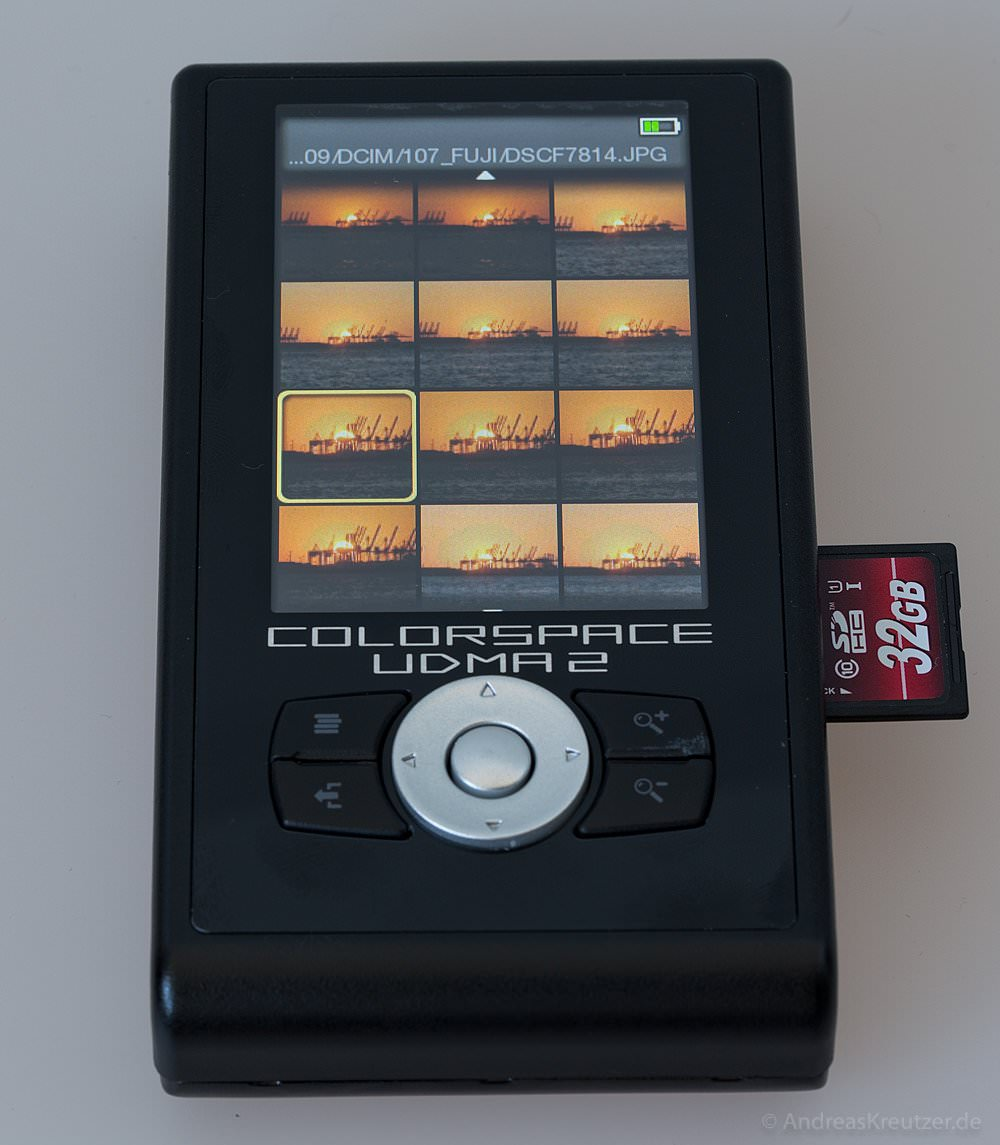 UDMA2 Colorspace - Fotoübersicht