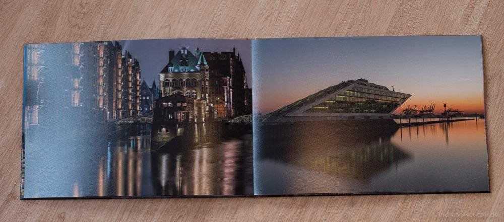 Speicherstadt und Dockland im Fotobuch von Saal Digital