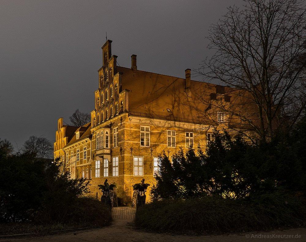 Bergedorfer Schloss im Winter