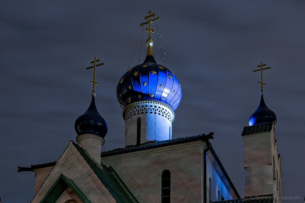 Russisch orthodoxe Kirche in Hamburg Stellingen