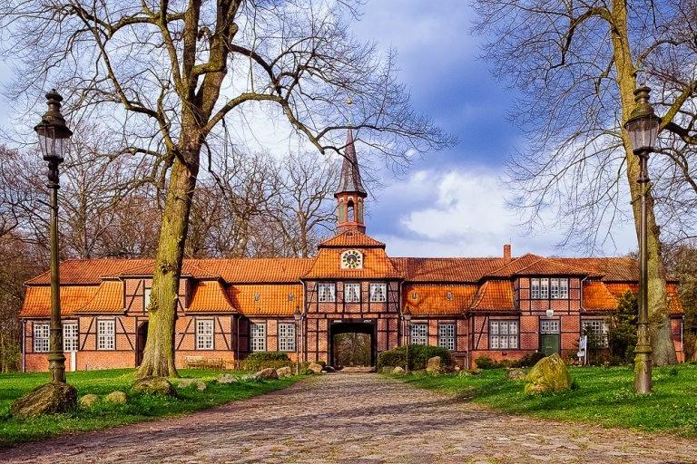 Torhaus in Hamburg Wellingsbüttel