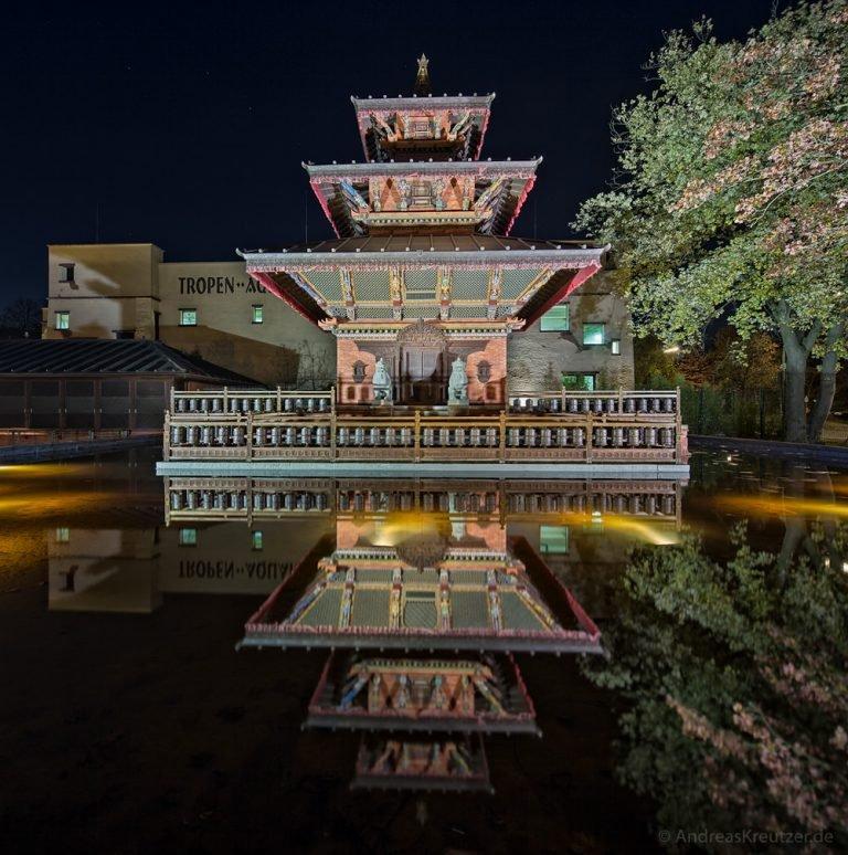 Nepalesischer Pagoden-Tempel