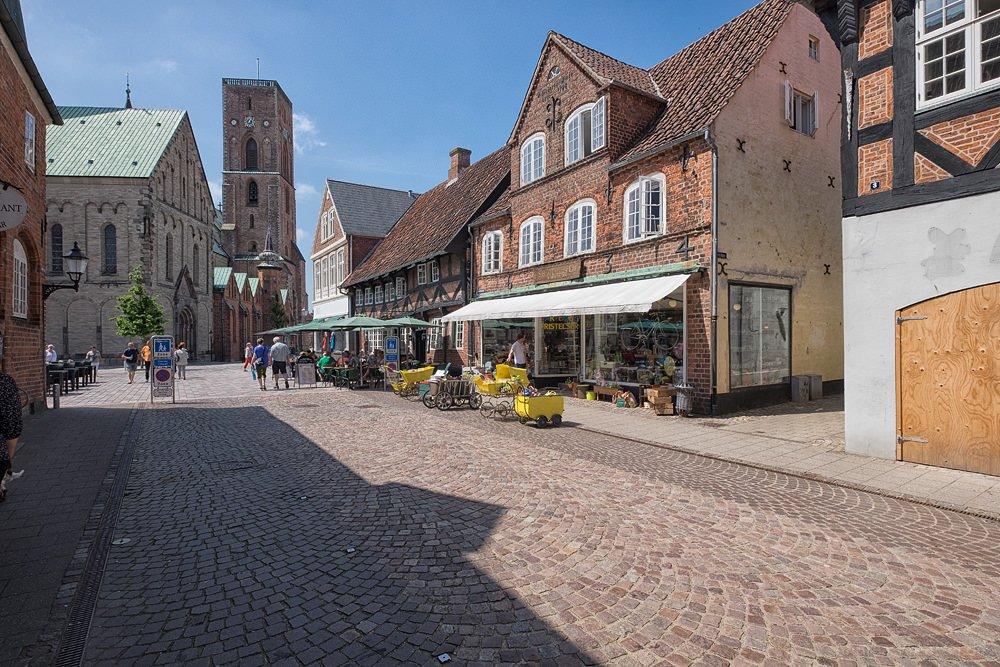 Altstadt in Ribe