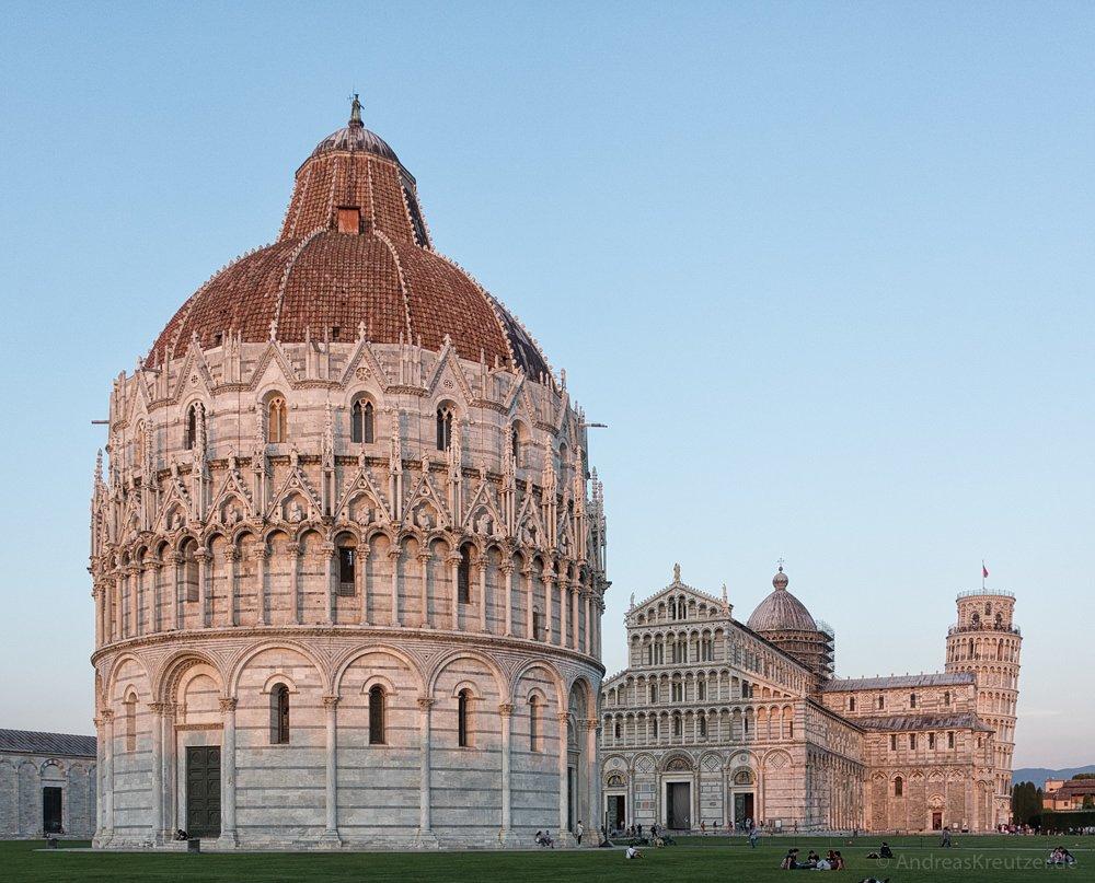 Baptisterium San Giovanni - Pisa