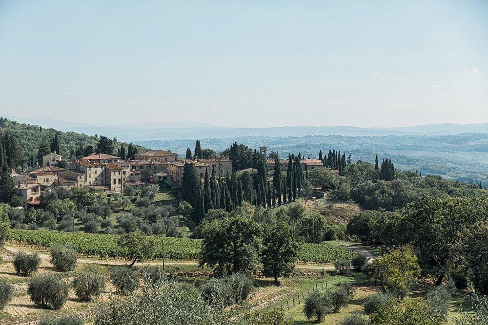 Chianti Region Toskana