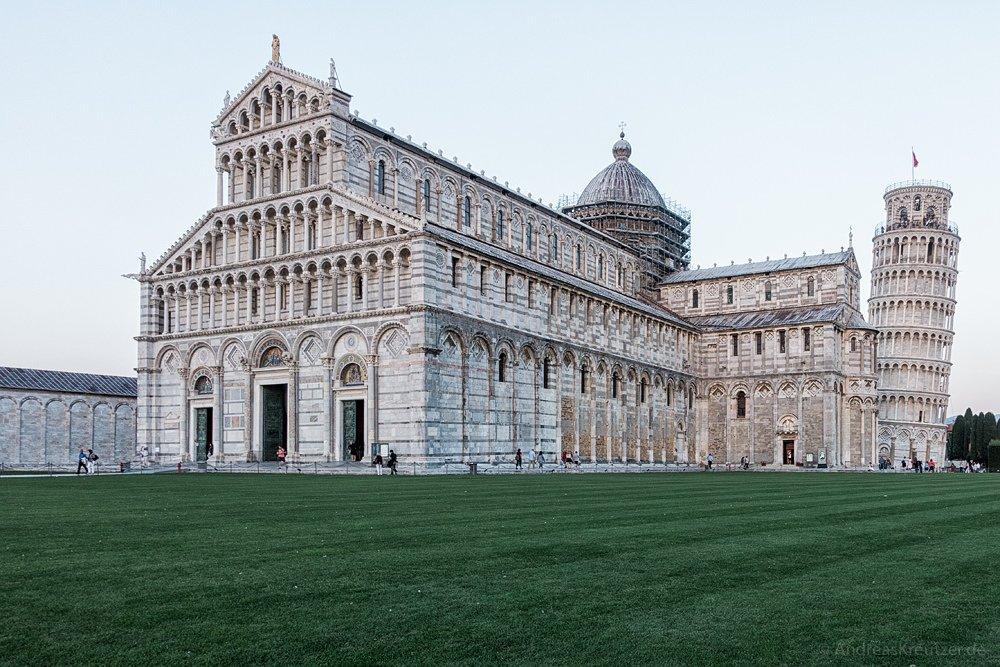Dom zu Pisa und schiefer Turm