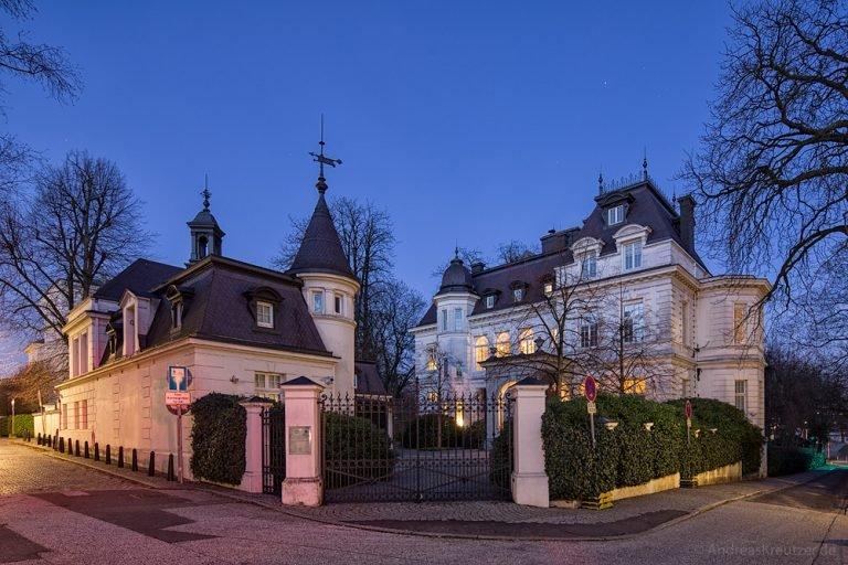 Villa in der Hamburger Milchstraße