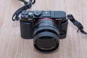 Sony RX1 Ansicht von vorne