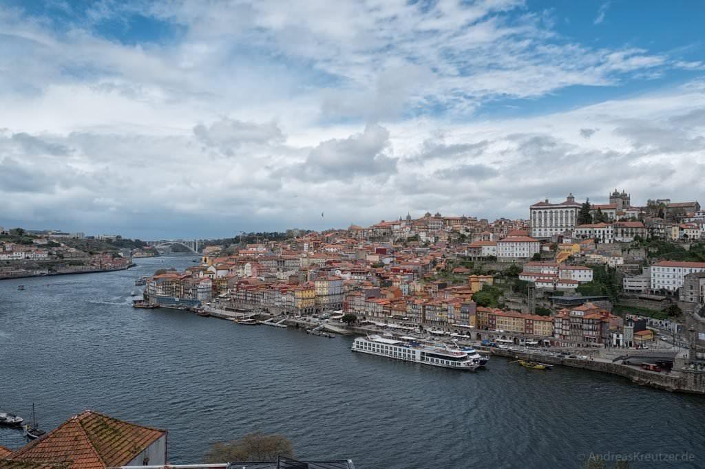 Blick auf die Altstadt von Porto