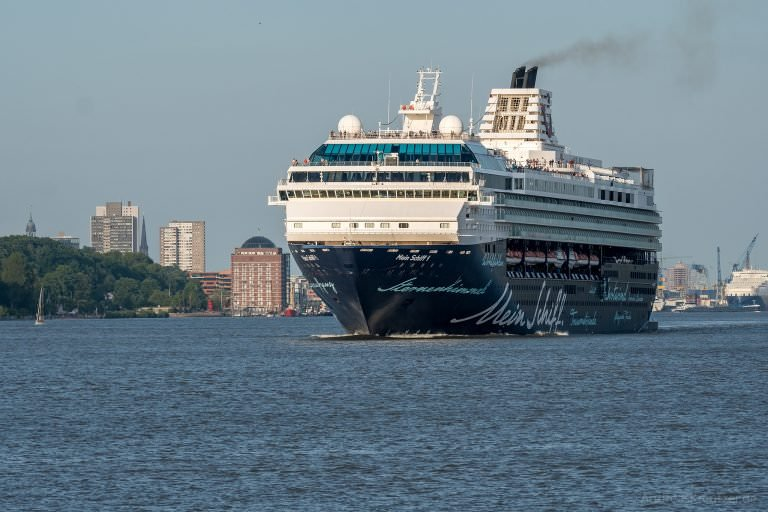 Mein Schiff 1 in Hamburg