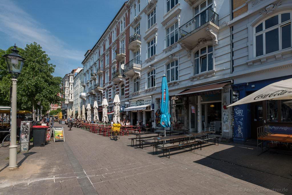 Schanzenviertel Piazza / Floraplatz