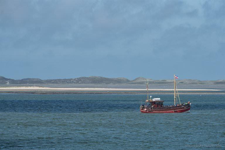 Kutter auf der Nordsee vor Sylt
