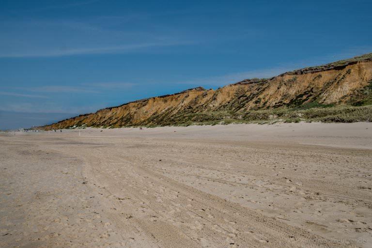 Strand bei Kampen auf Sylt