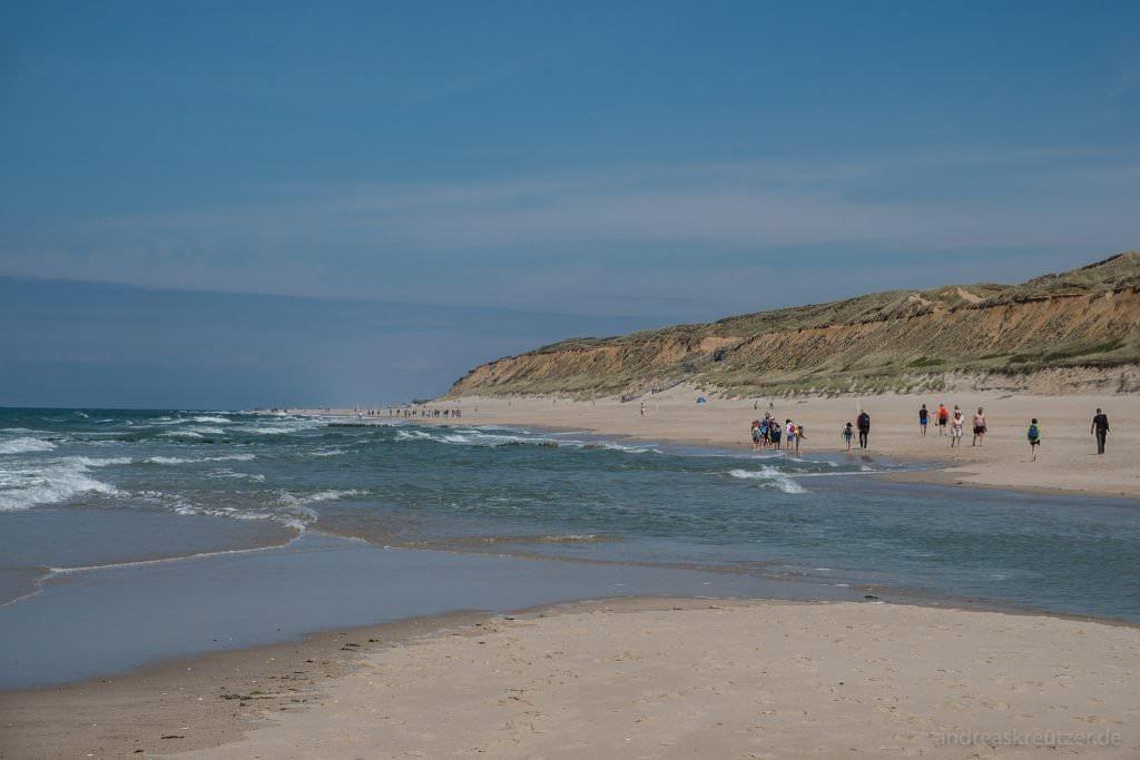 Strand zwischen WEnningstedt und Kampen auf Sylt