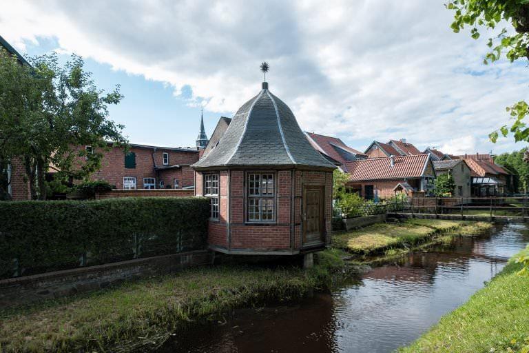 Häuser an den Wallanlagen in Boizenburg