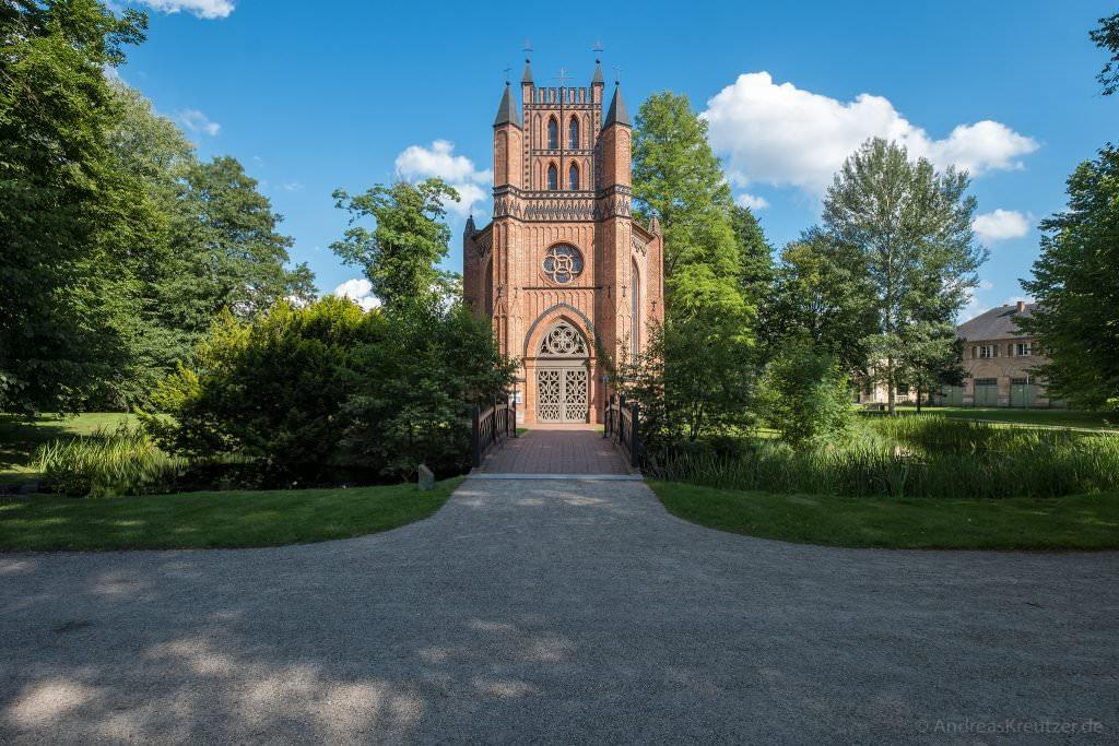 Katholische Kirche beim Schloss Ludwigslust