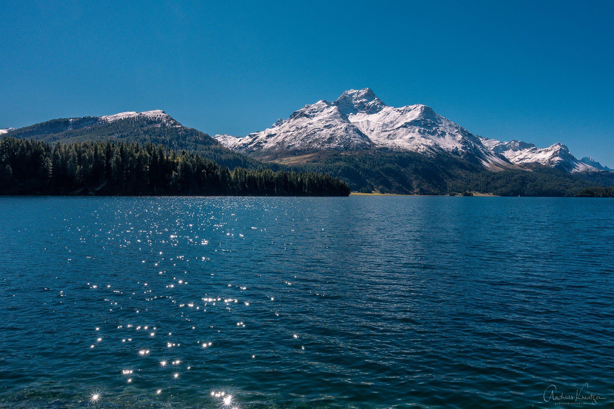 Silser See bei St. Moritz