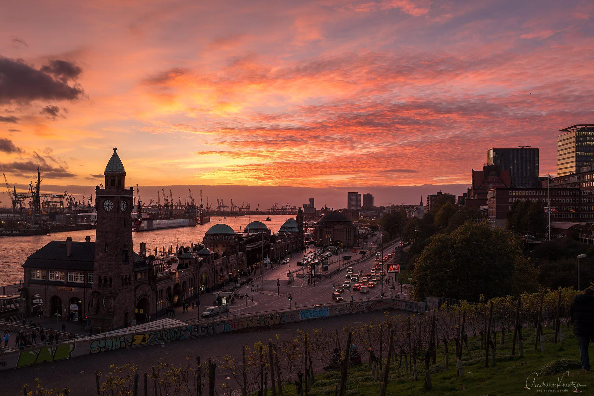 Sonnenaufgang Hamburg