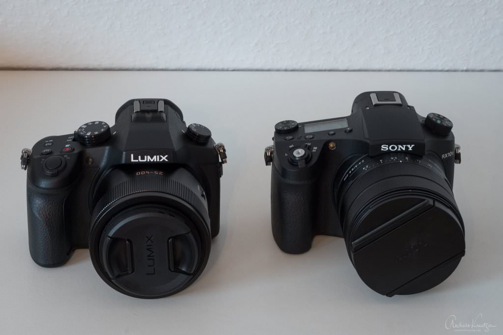 Panasonic FZ100 und Sony RX10 III