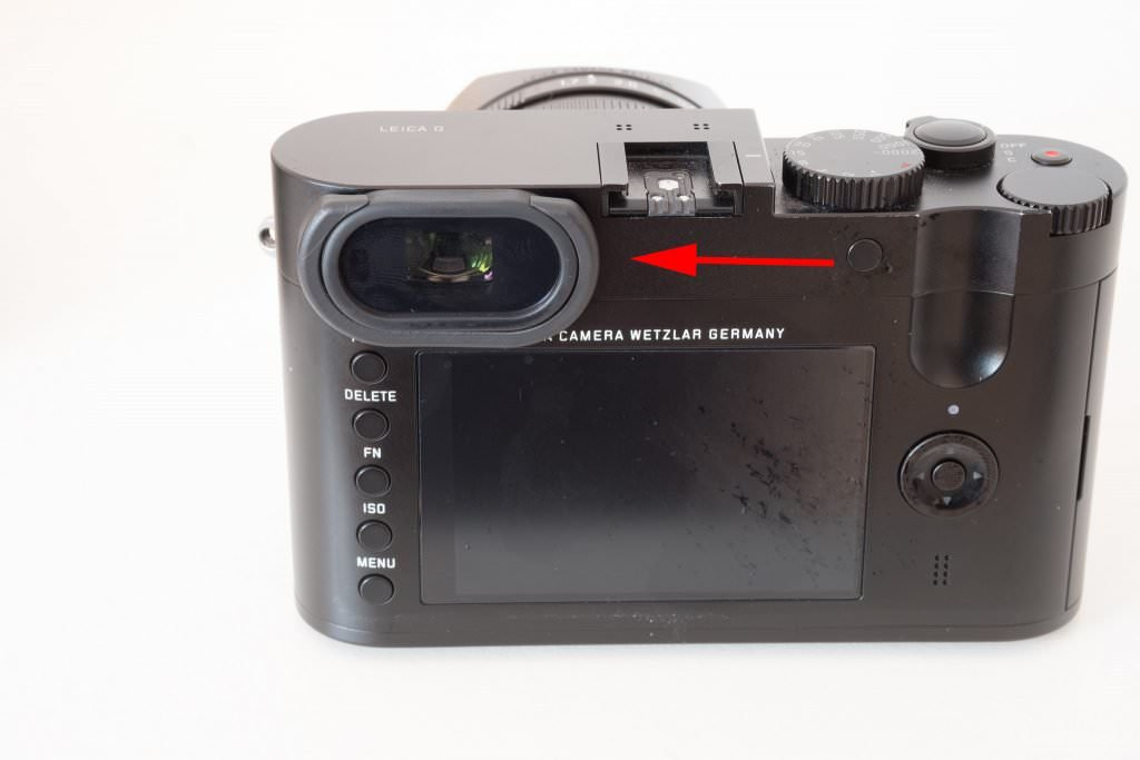 Leica Q Dioptrieneinstellungsschutz - Dioptre Compensation Securing for Leica Q