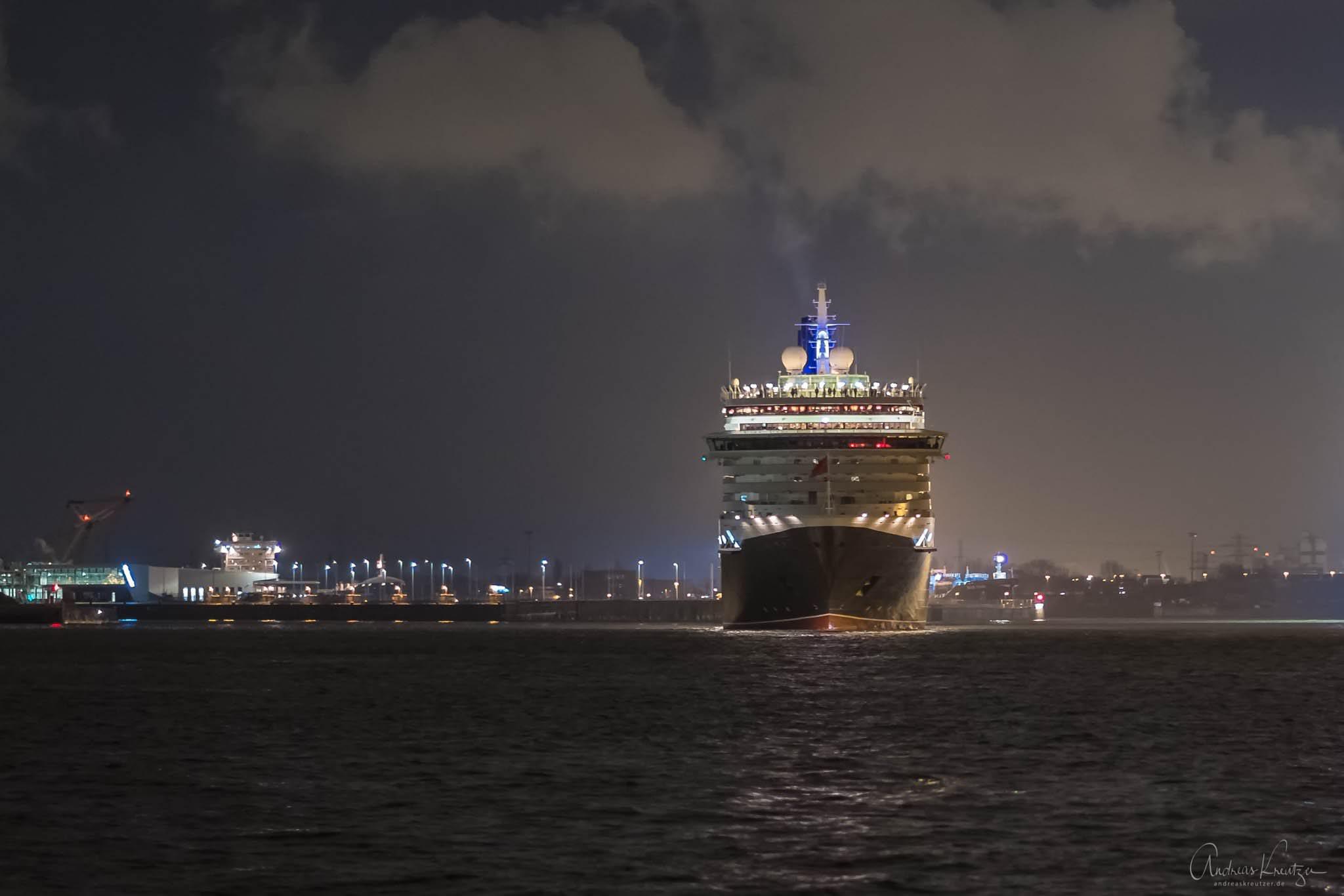 Queen Victoria in Hamburg