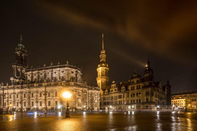 Theaterplatz in Dresden