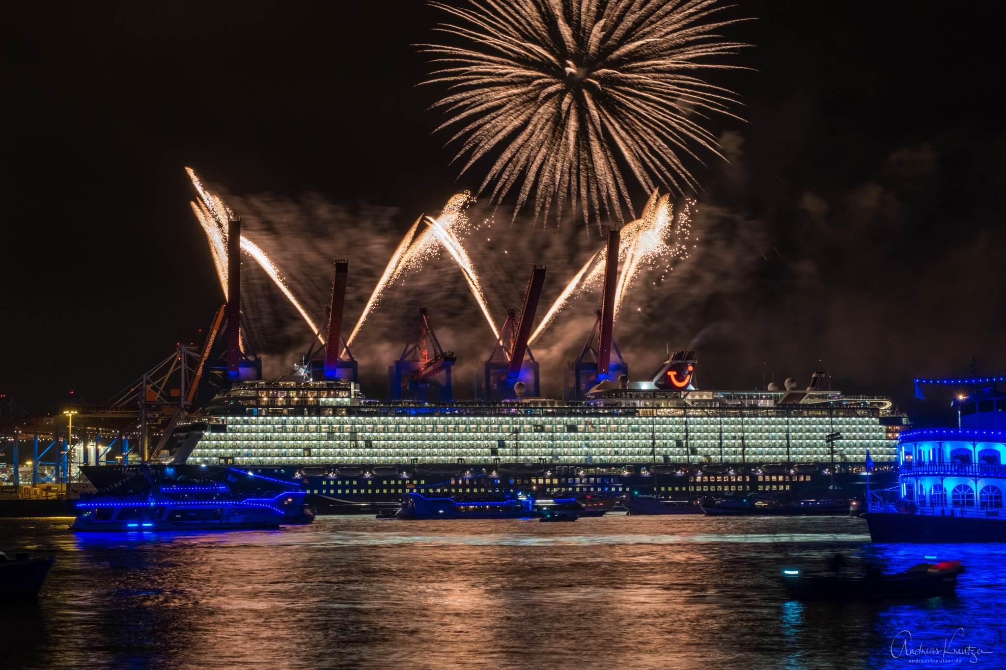 Taufe der Mein Schiff 1 in Hamburg