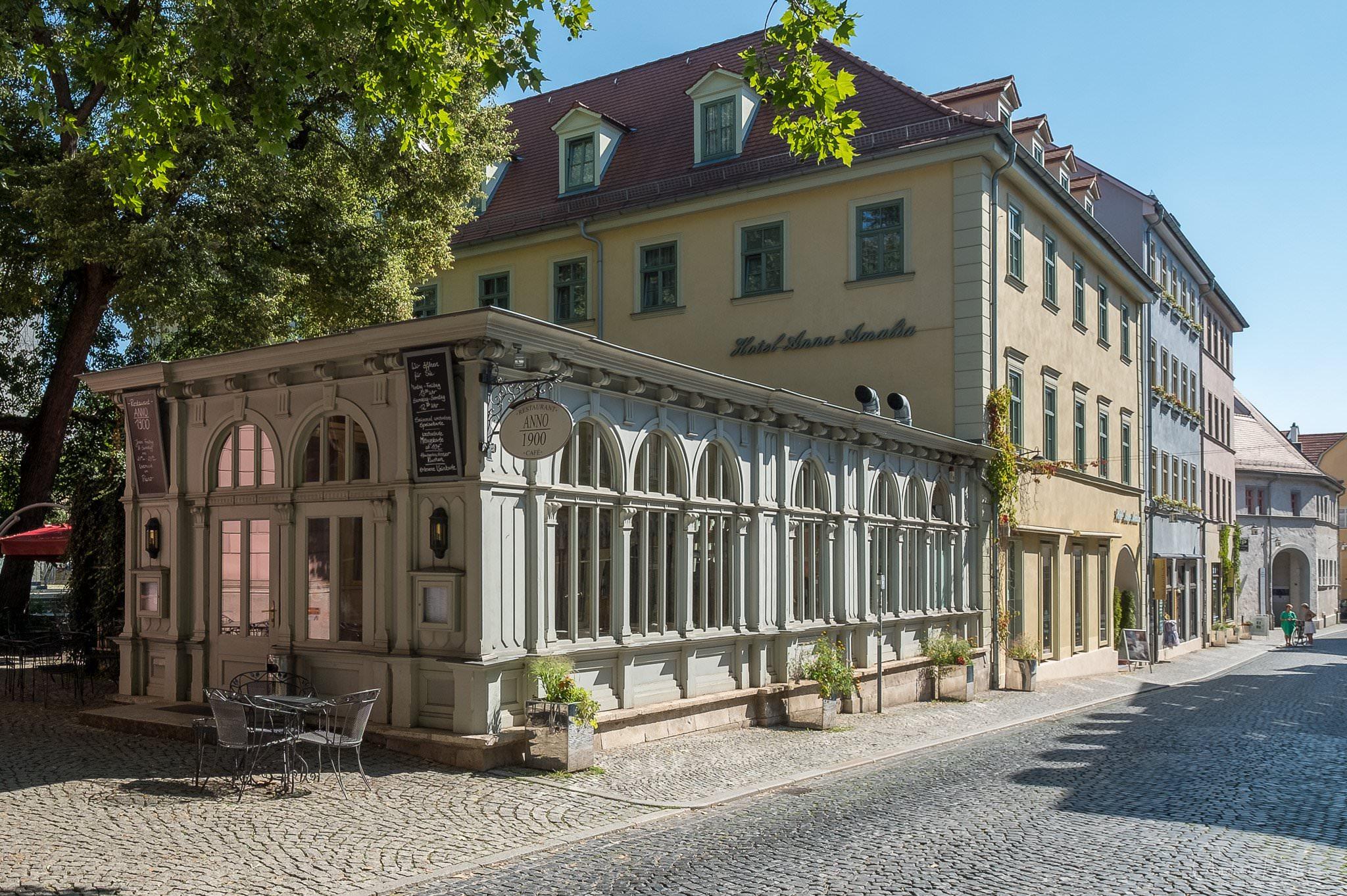 Café-Restaurant ANNO 1900 in Weimar