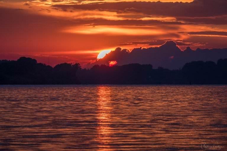 Sonnenuntergang mit der Lumix TZ202