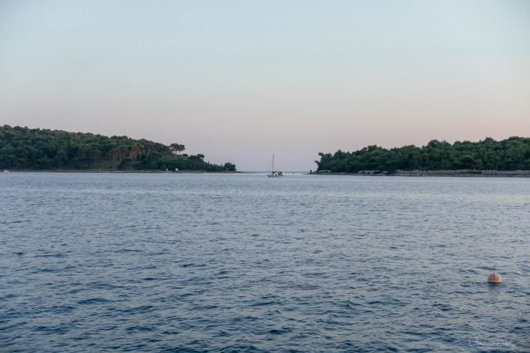 Bucht bei Mali Losinj auf Cres