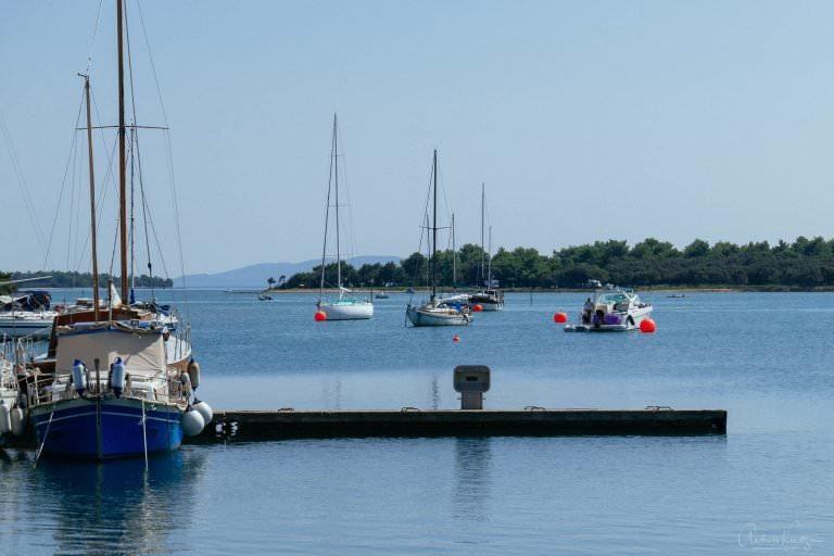Hafen von Osor auf Cres