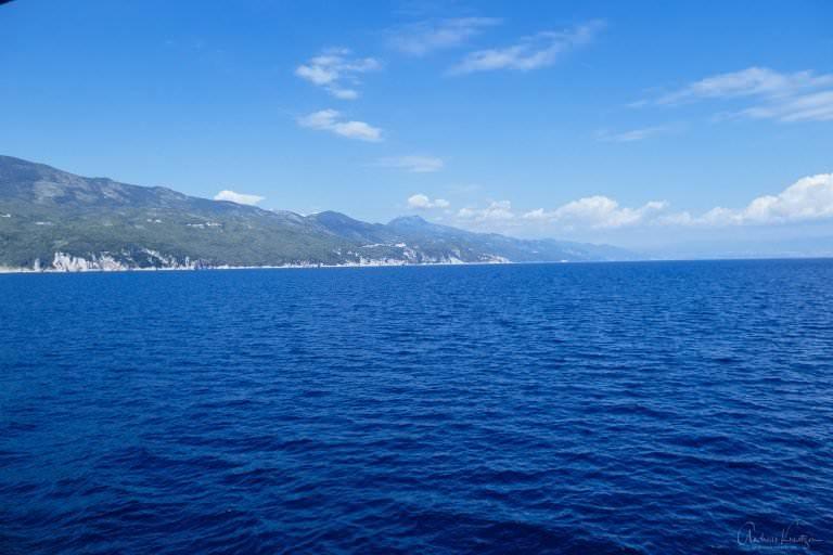 Küste bei Brestova in Kroatien