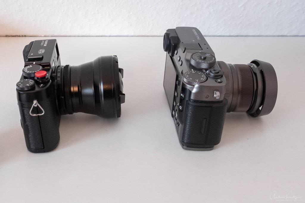 Fuji X100T mit TCL vs XPro2