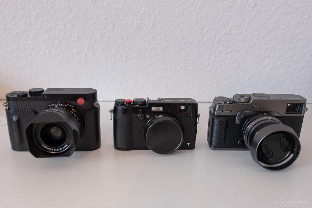 Leica Q vs X100T vs XPro2