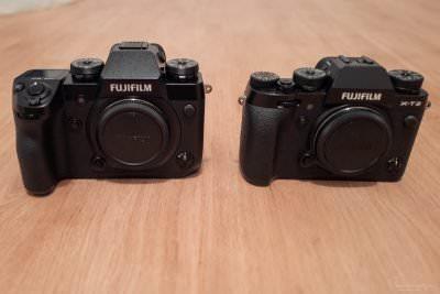 Fuji X-T2 vs. Fuji X-H1