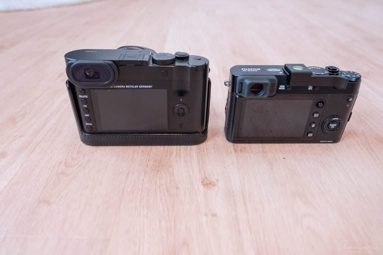 Leica Q vs. Fuji X100F