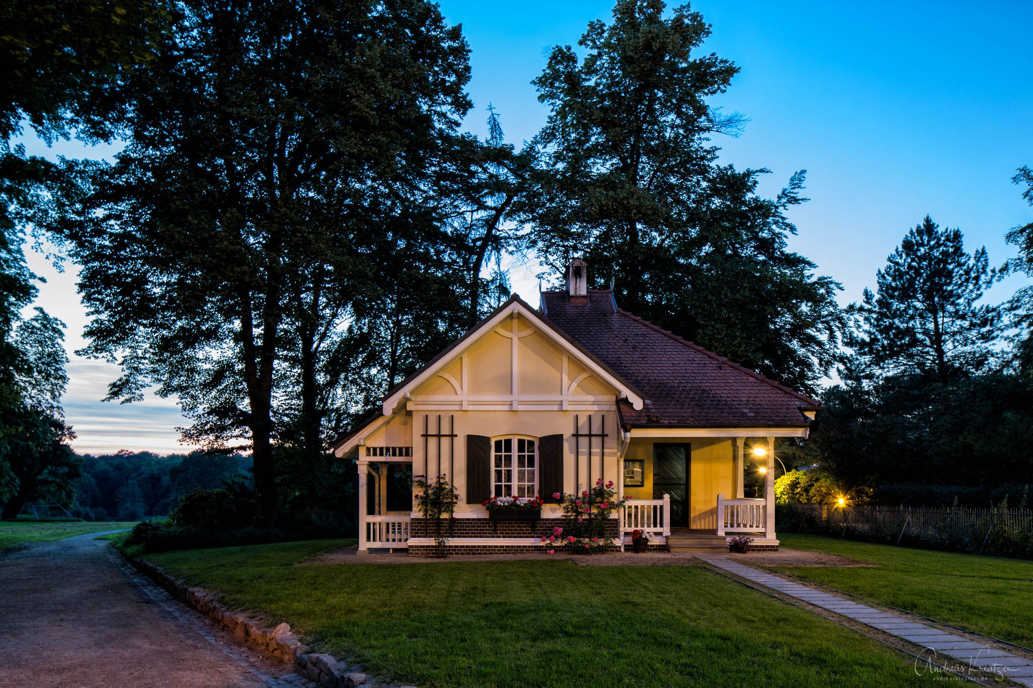 Cottage beim Kaisertor vom Jenisch-Park