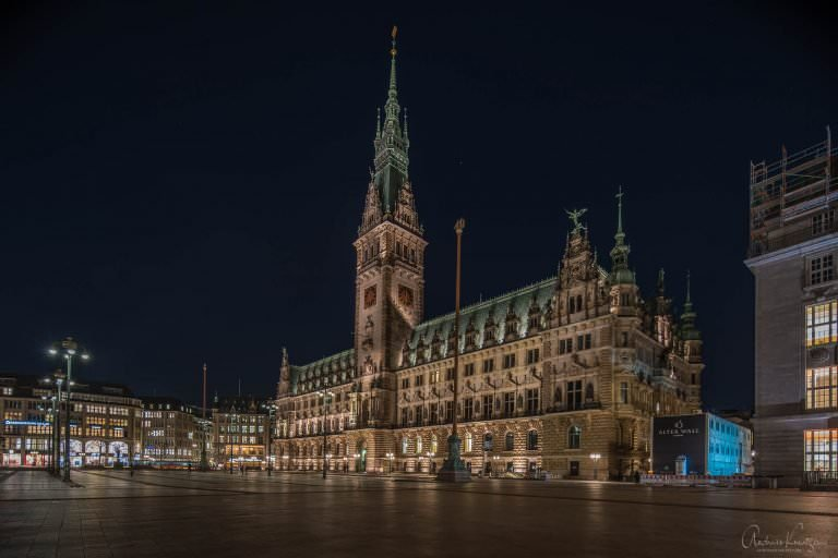 Hamburger Rathaus