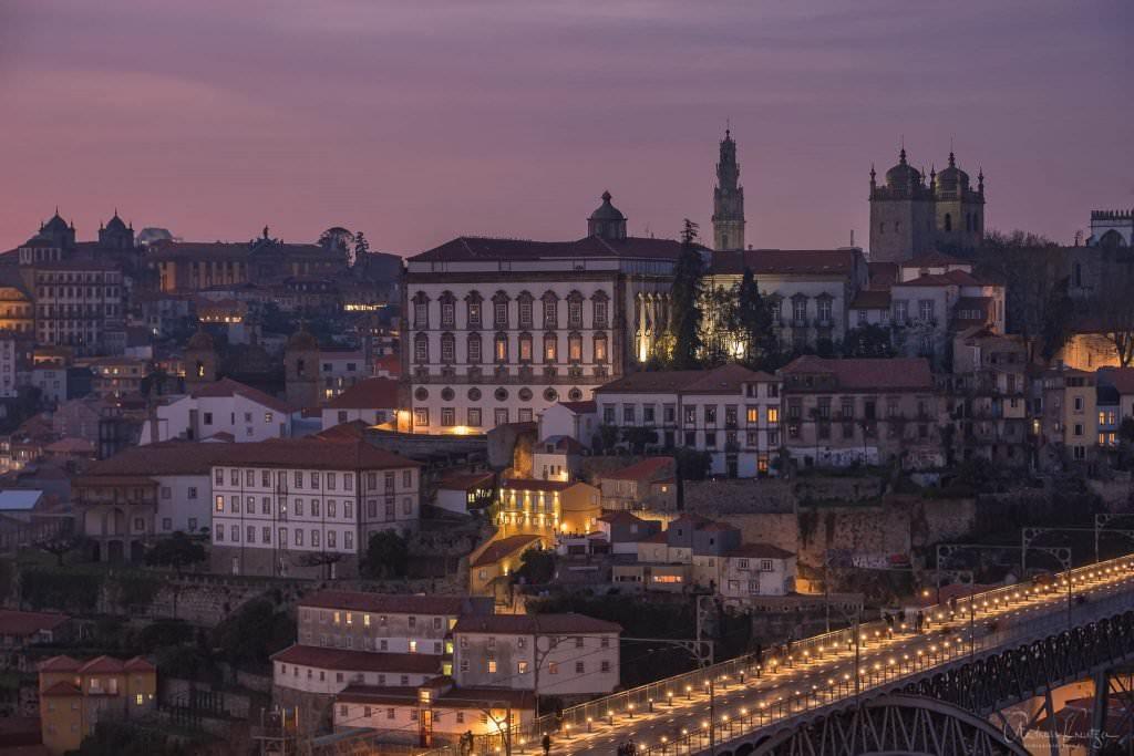 Blick auf die Katedrale von Porto