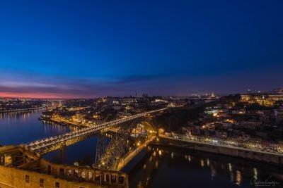 Blick auf Porto