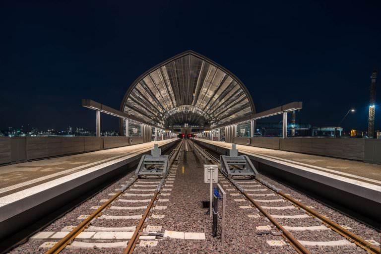 U Bahnstation Elbbrücken