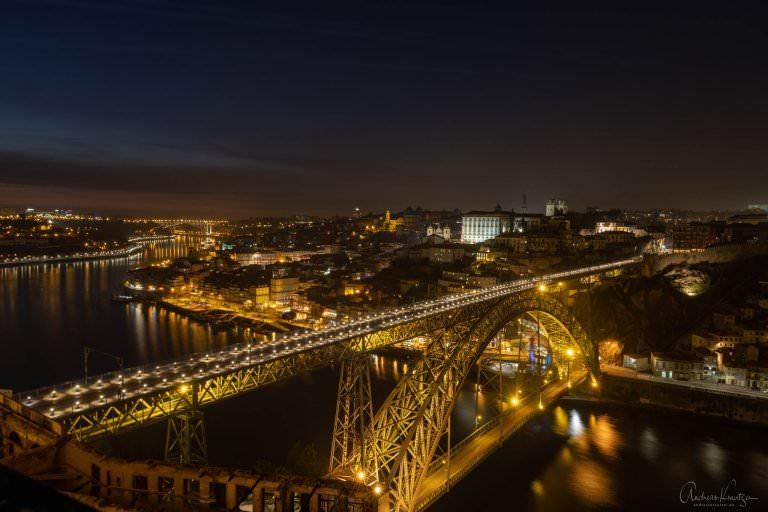 Blick auf Ponte Dom Luís I