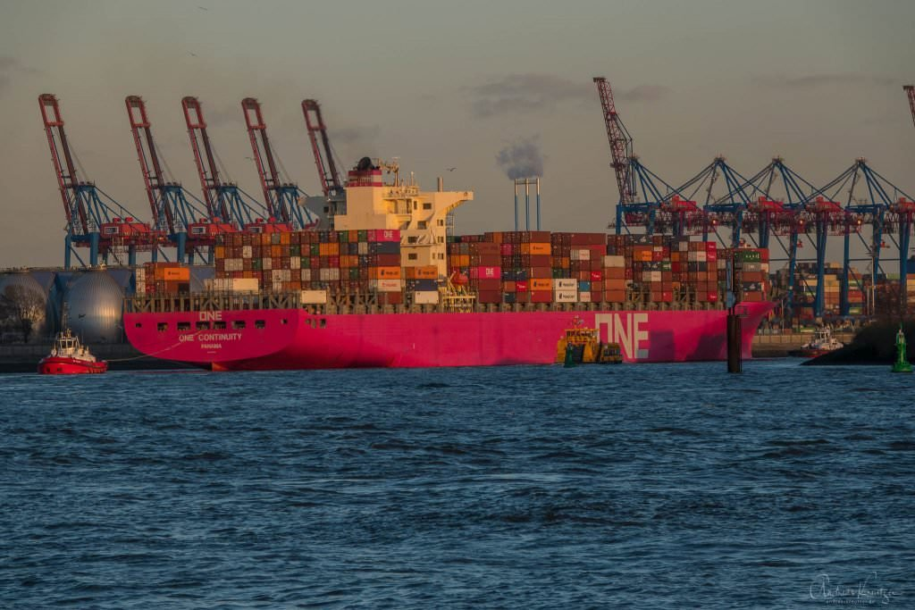 ONE Containerschiff