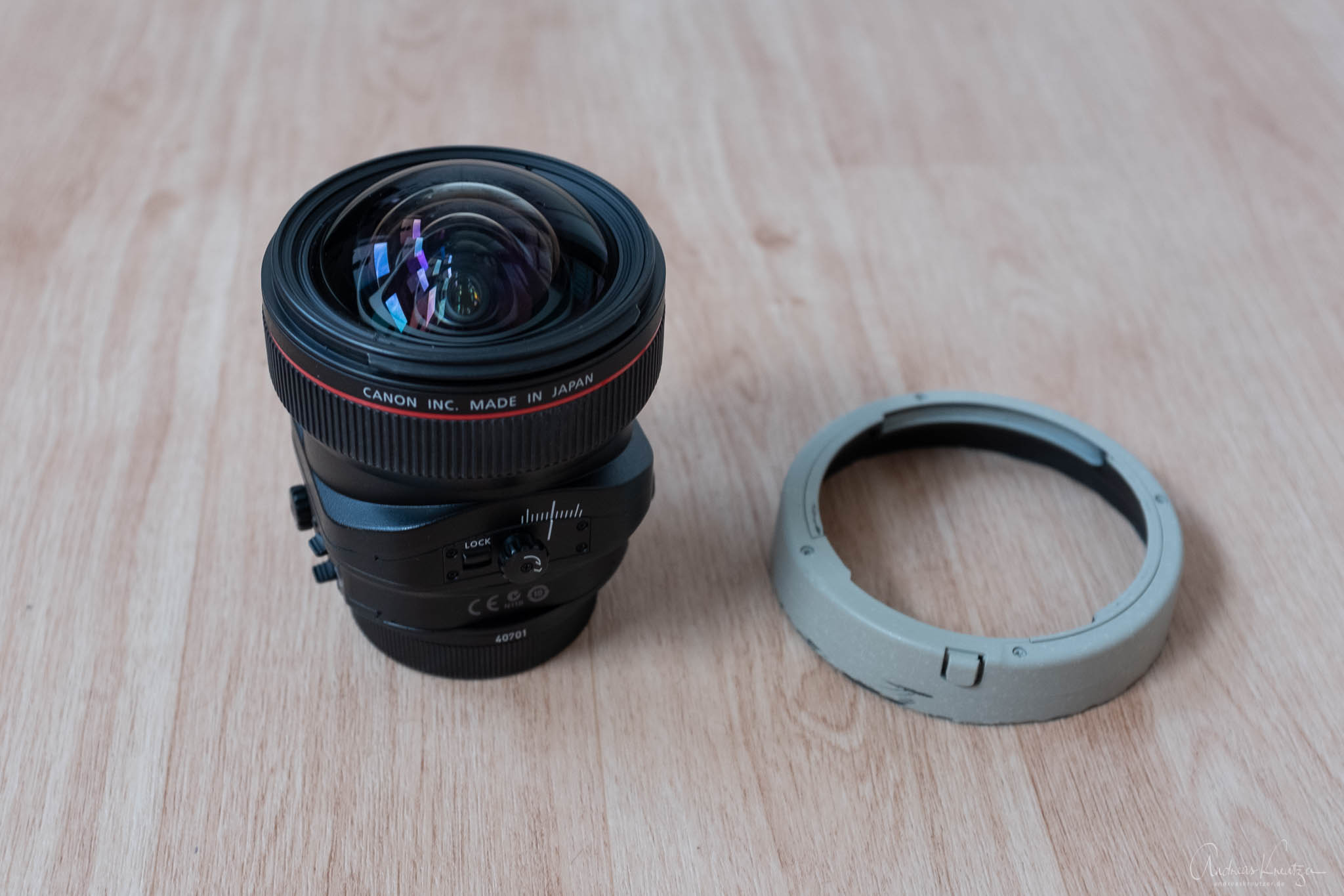 Canon TS-E 17 Gegenlichtblende