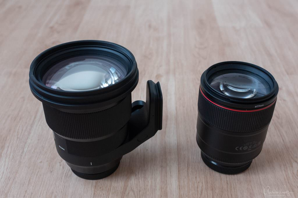Sigma 105 1.4 ART vs Canon 85mm 1.4