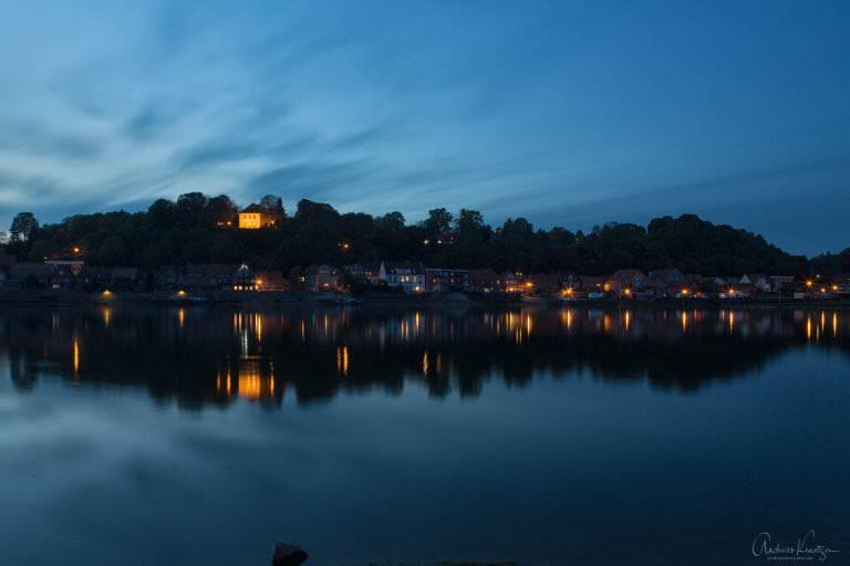 Abendlicher Blick auf die Altstadt von Lauenburg III