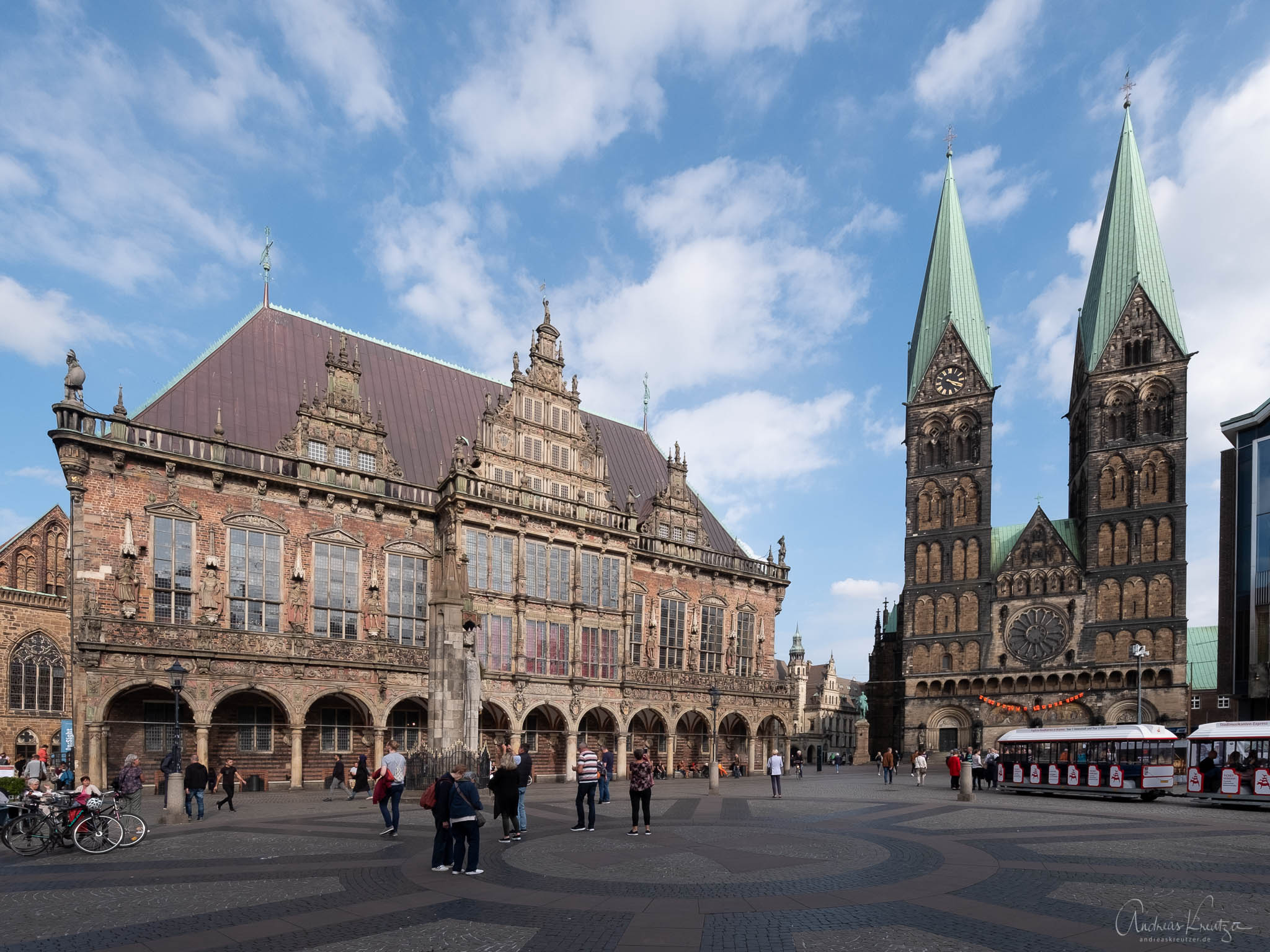 Bremen Rathaus und St. Petri Dom