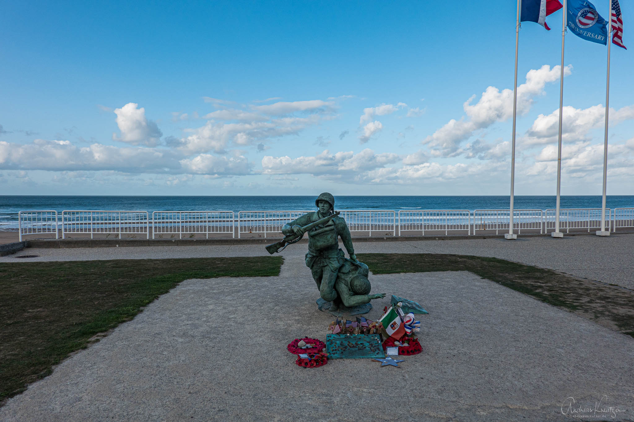D Day Denkmal in Vierville