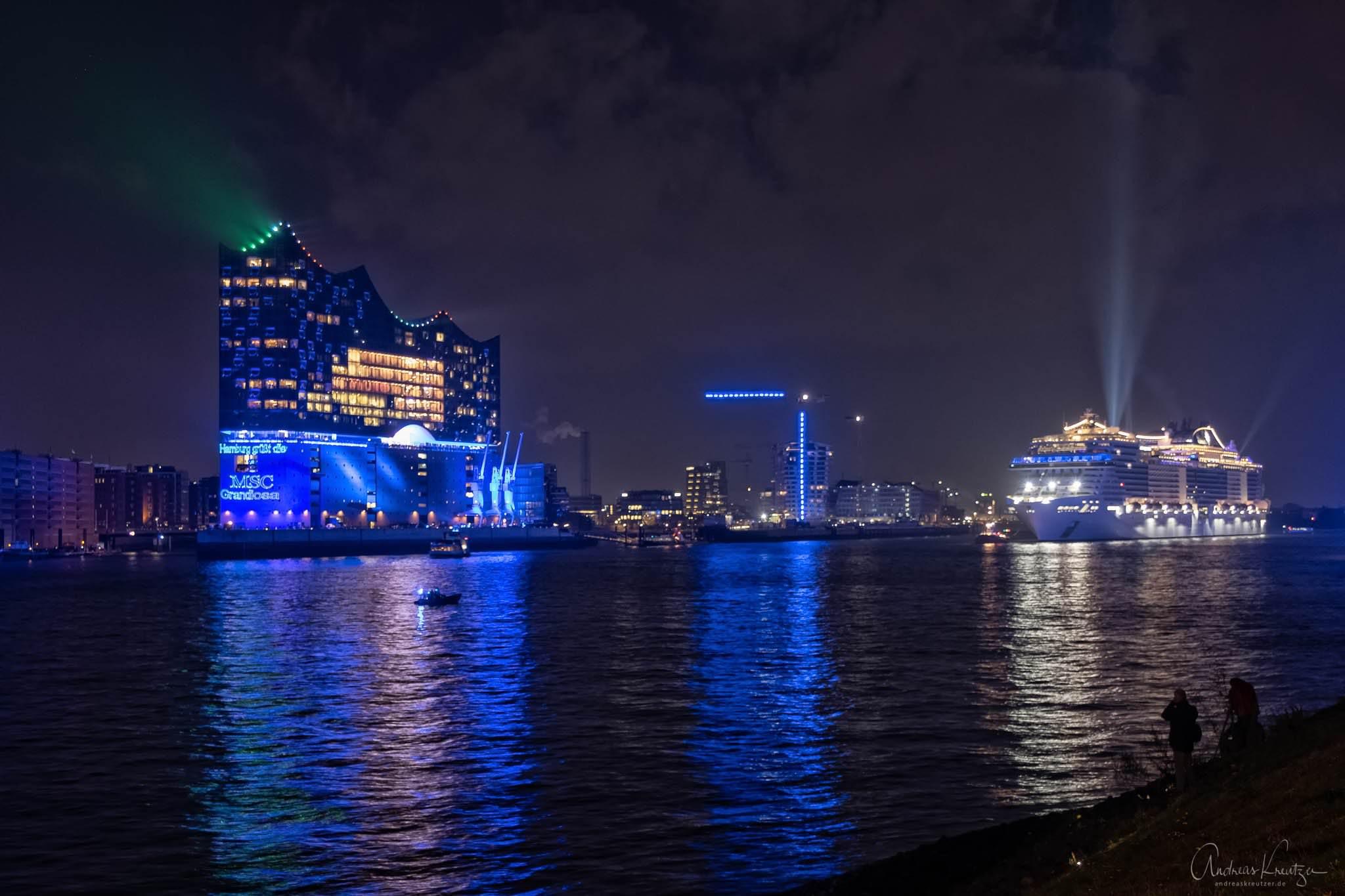 Taufe der MSC Grandiosa in Hamburg | Andreas Kreutzer ...